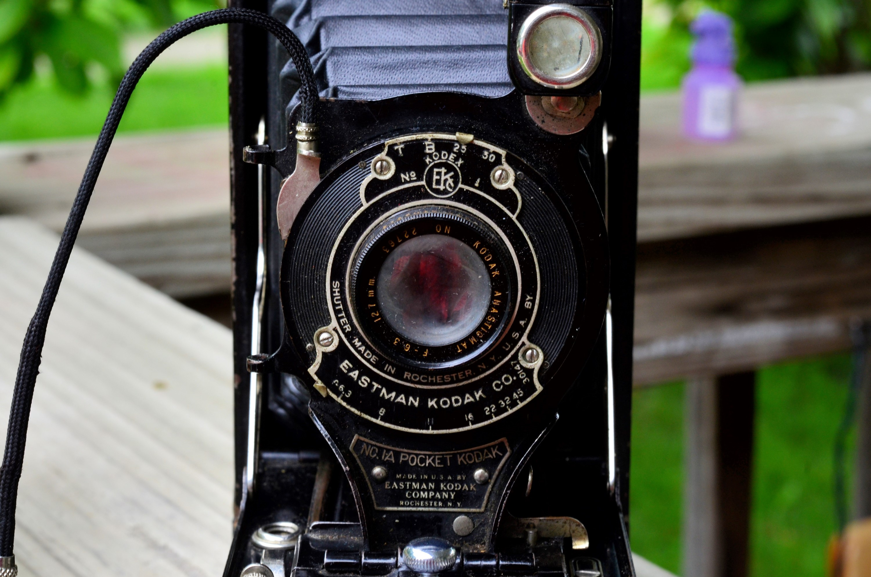 I Bought an 85 Year Old Camera