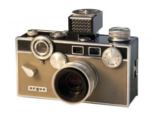 And original Matchmatic with its accessory light meter. This is what my example would have looked like when it was new.