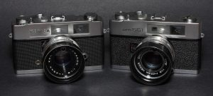 Here is a Konica Auto S2 and Wards amm551 side by side.