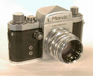 The Orion Miranda T from 1954 was the first Japanese SLR with a pentaprism.