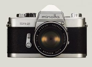 The Minolta SR-2 was Minolta's first SLR, released in 1958.
