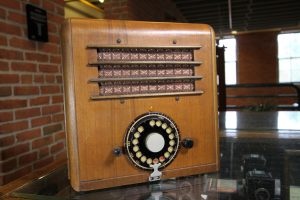 An early IRC Kadette radio in the Argus museum in Ann Arbor, MI.