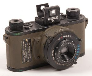 A Kodak 35 in Black and Olive drab made prior to 1940 for the US Army.