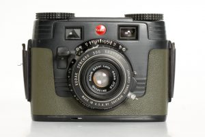This is an example of the black and olive variant of the Signet 35 designed for the US Army Signal Corps.