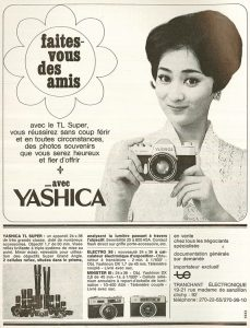 """I don't speak French, but I bet if I would have seen this ad for the TL-Super in 1966, I would have """"faites-vous des amis"""" as well!"""