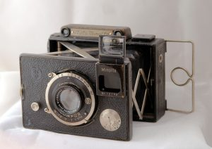 "The Auto Minolta from 1933-34 was the first camera to feature the name ""Minolta""."