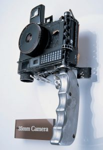This is a modified Ansco Autoset which was a rebadged Minolta Hi-Matic that John Glenn used aboard Friendship 7 in 1962.