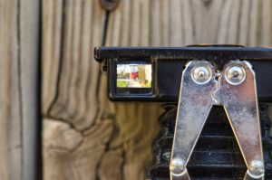 The two brilliant viewfinders on this camera, one for portrait and one for landscape, are surprisingly effective.