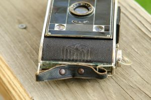 Later AGFA Clacks would have a revised body covering without the vertical stripes of the AGFA logo.