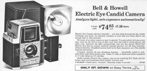 An ad for the Electric Eye 127 from a 1959 Sears catalog.