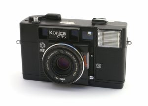 The Konica C35 AF was the world's first autofocus camera when it was released in 1977.