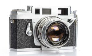The Konica IIIA from 1956 was perhaps the pinnacle of Konica rangefinders and is highly sought after by collectors today.