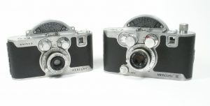 When looked at separately, both the original Univex Mercury and the later Mercury II look a lot alike, but when looking at them side by side, you can see the two are very different sizes.