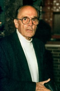 Heinz Waaske as seen in 1995, was the father of the Wirgin Edixa SLR.
