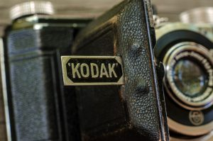 One of the many reasons I like prewar German cameras is the frequent use of subtle design elements like the Kodak logo on the kickstand.