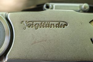The script Voigtlander logo has remained mostly unchanged for over 200 years.