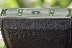 The Nettar 515 was a 6cm x 4.5cm folding camera made between the years 1937 - 40.