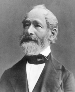 A portrait of Carl Zeiss.