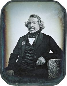 A dughe of Louis Dauguerre from around 1850.