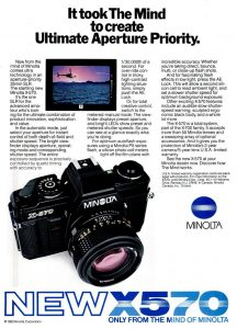 Minolta Ad Sept 83 Pop Photo