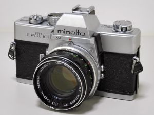 The Minolta SRT-101 was in production for over a decade and is one of the company's most successful models ever.