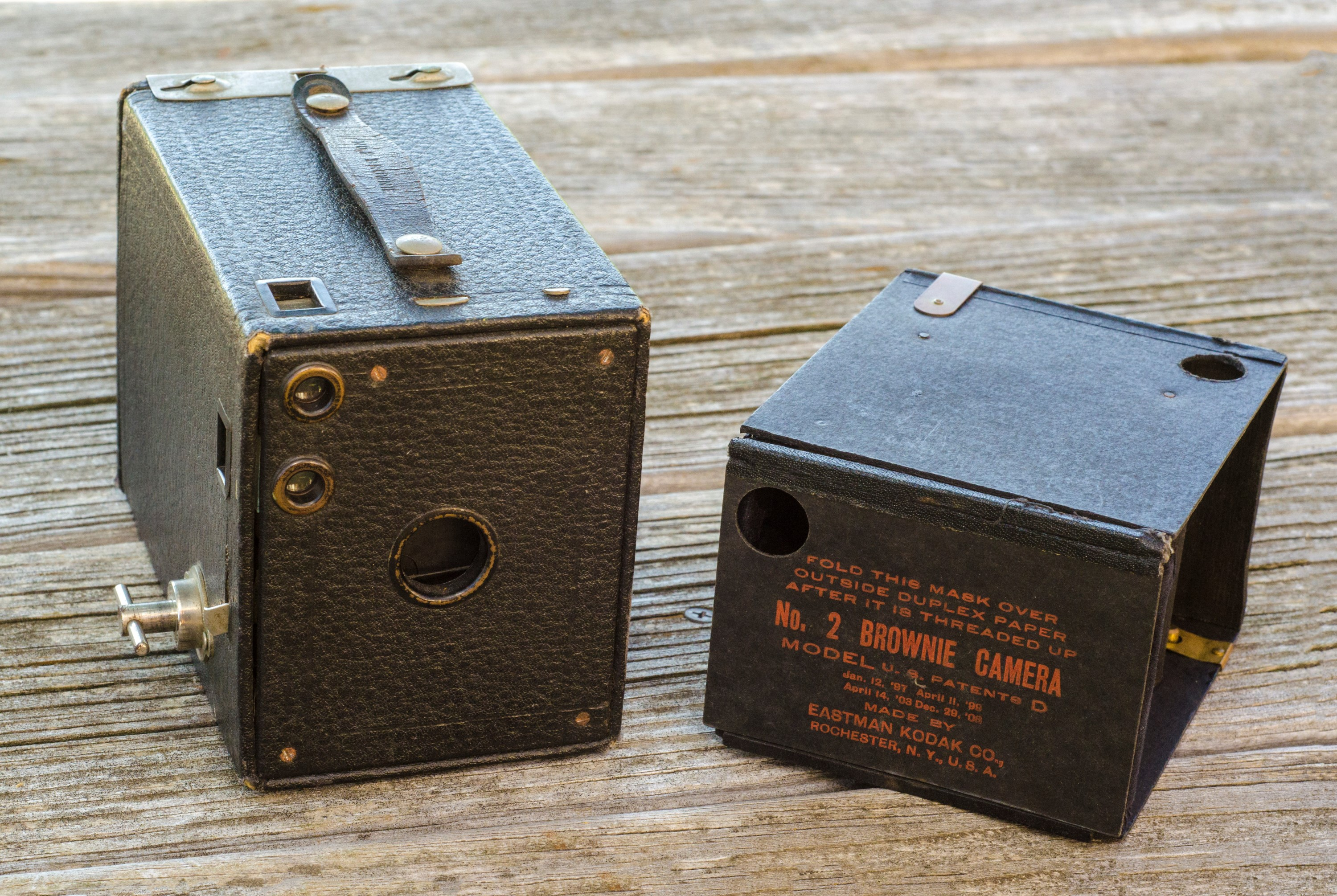 Kodak No 2 Brownie Model D 1914 Mike Eckman Dot Com