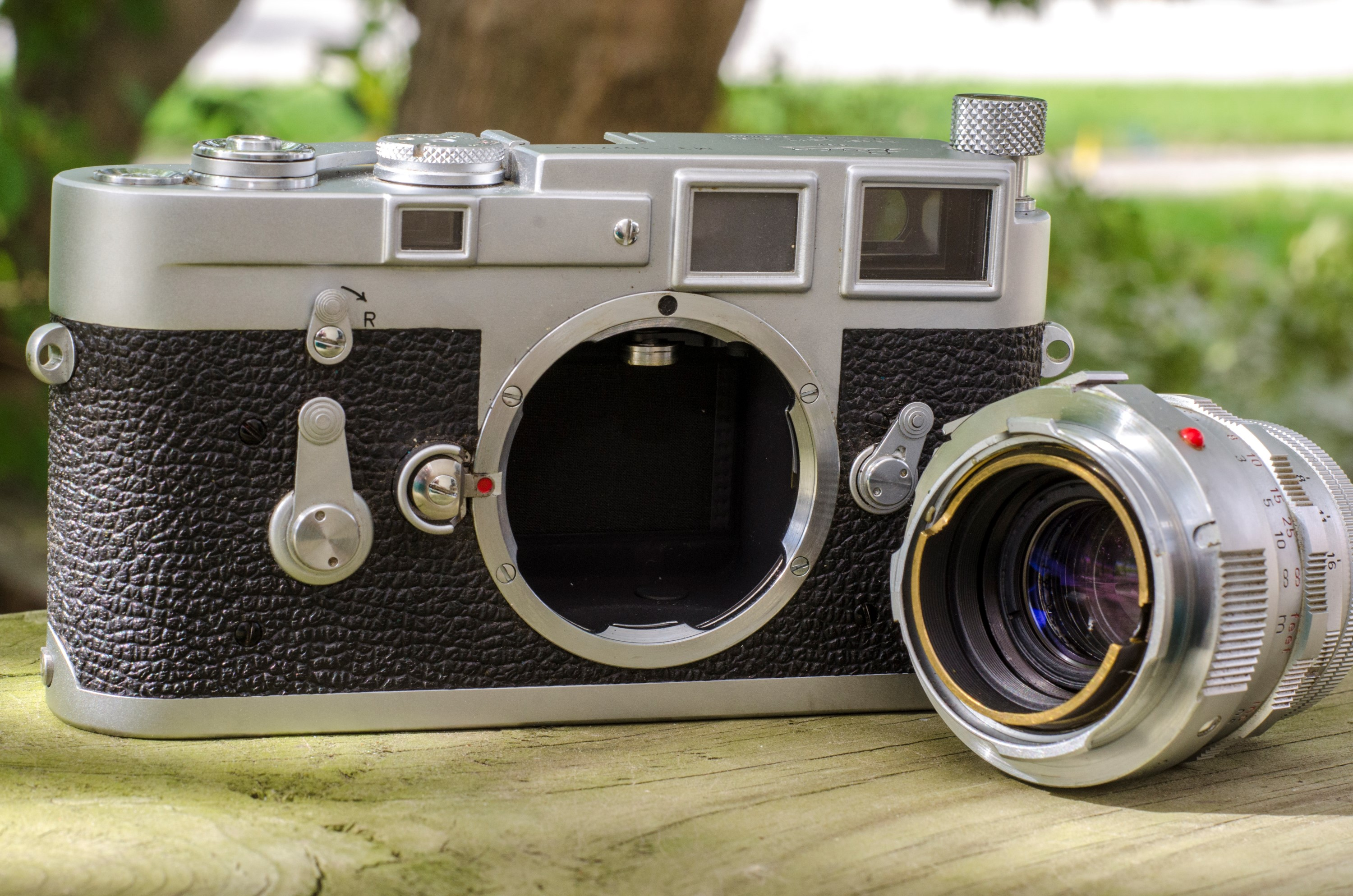 The M3 was the first camera to debut the Leica M-mount. A mount which was  in use as recently as the Leica M9 digital camera.