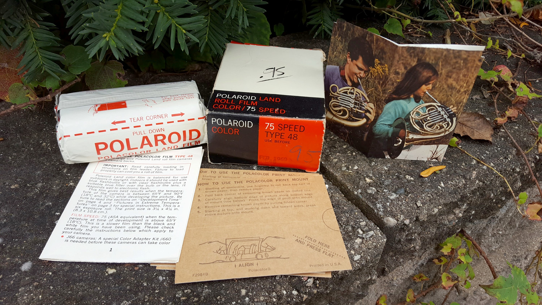 Keppler's Vault 74: Polaroid Color