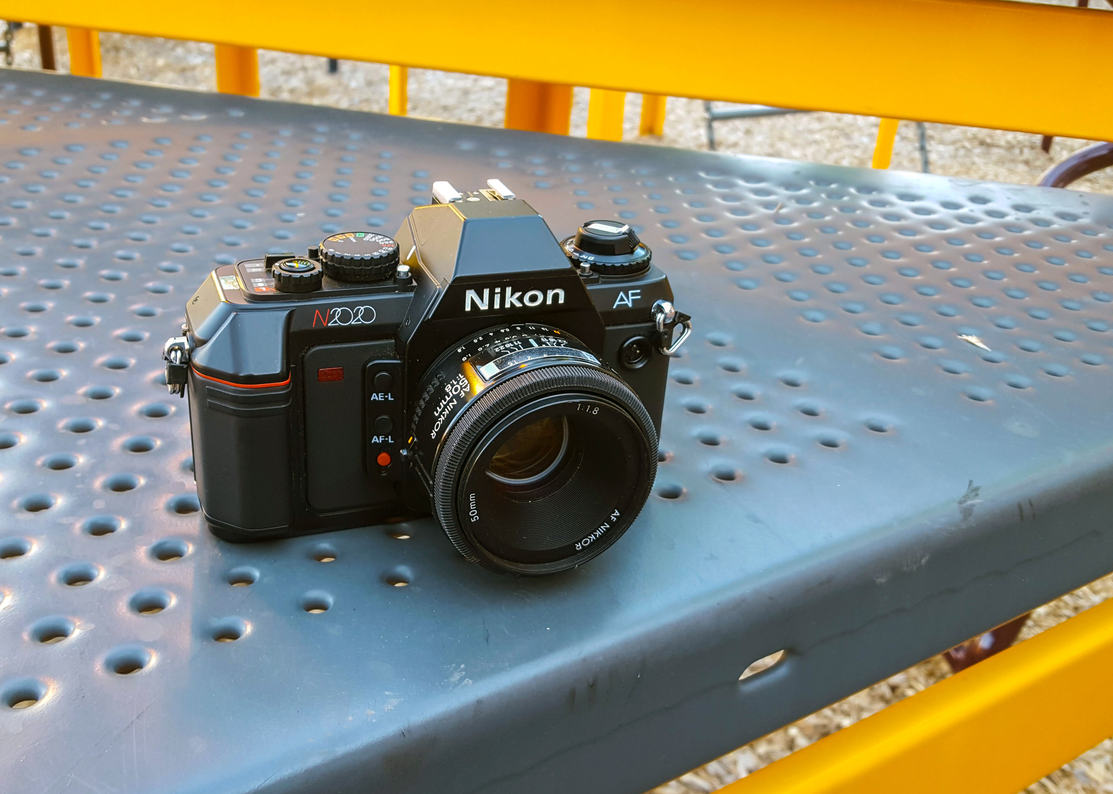 three decades of nikons elw n2020 and n90s mike eckman dot com rh mikeeckman com Nikon N4004 Nikon N2020 AF Camera