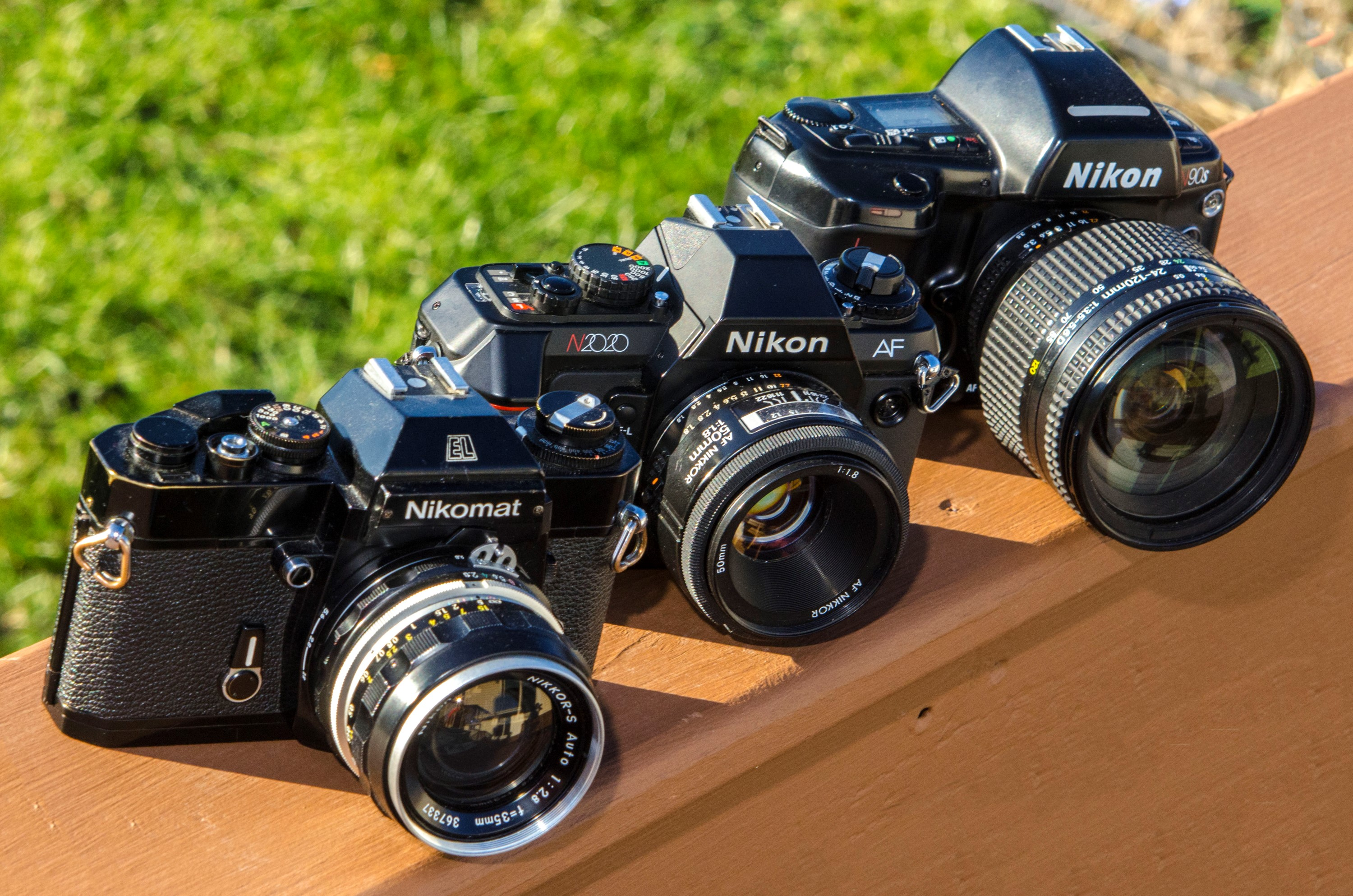 Three Decades of Nikons