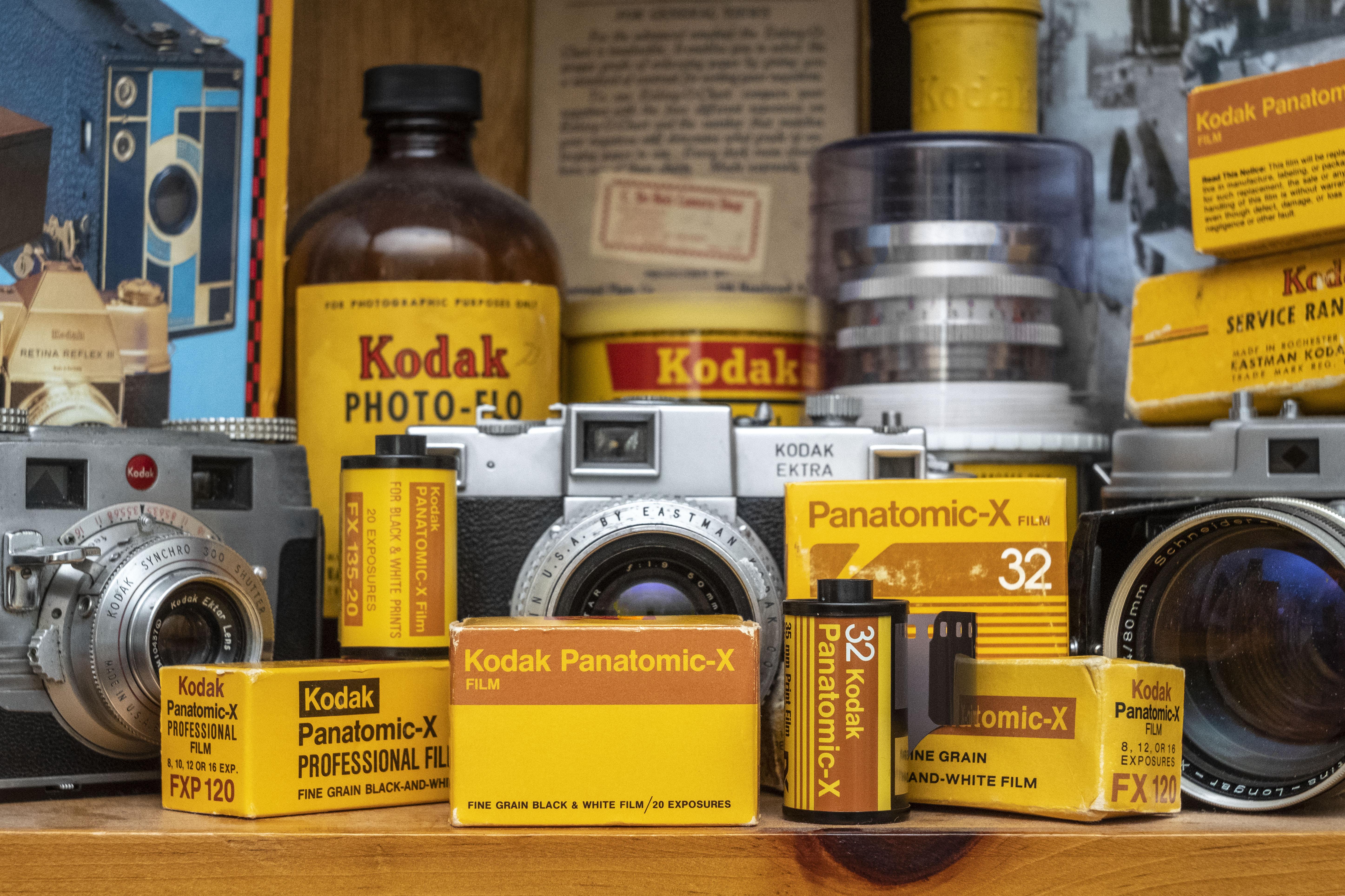 Keppler's Vault 70: Kodak Panatomic-X