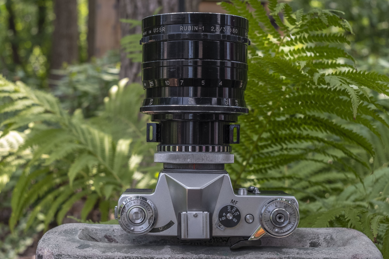 KMZ Rubin-1 37-80mm f/2.8
