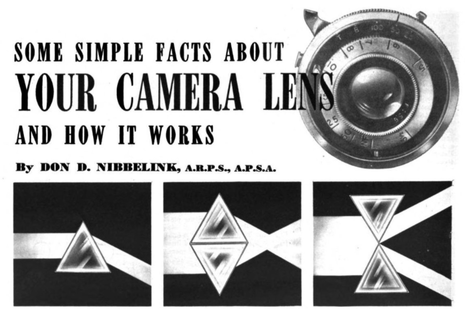 Keppler's Vault 87: Your Camera Lens and How It Works